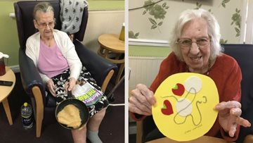 Cradley Heath Residents craft crepes this Pancake Day