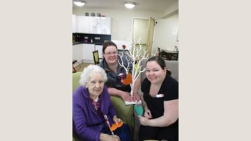 Dudley care home Residents celebrate Mothers Day