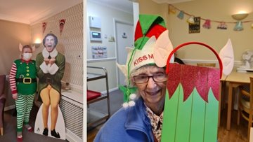Sheffield care home enjoy Elf day as festivities begin
