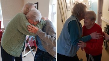 National Hug Day celebrations at Meadowbank House
