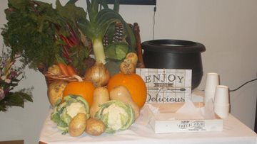 Consett care home host harvest festival celebrations