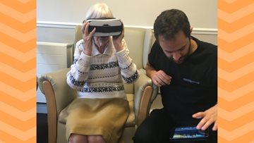 Technology helps Care Home Residents Reminisce
