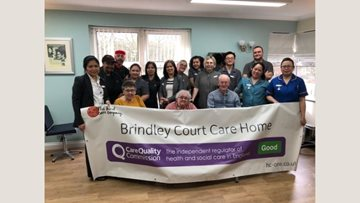 Celebrating success at Brindley Court