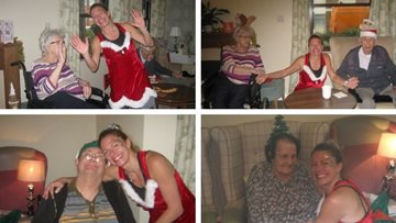 Zumba takes a festive twist at Hinckley care home
