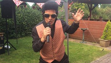 Clarendon Hall host Elvis for annual summer BBQ