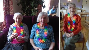 Summer fete is a success at Stockport care home