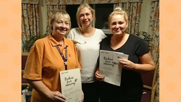 Stockport Care Home Employees Receive Kindness In Care Award