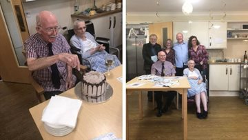 Braintree Care Home Resident Celebrates Book Launch