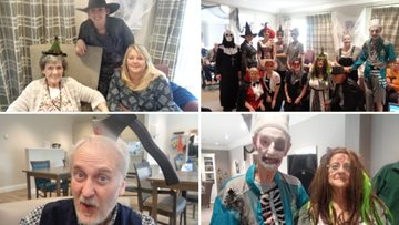Residents have a fangtastic time on the spookiest day of the year