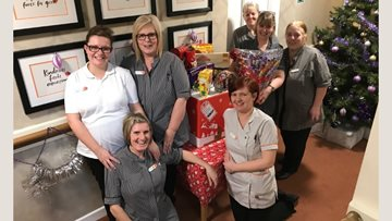 Berry Hill Park delighted to receive special Christmas surprise