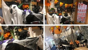 Arts and crafts take a terrifyingly good twist for Halloween at The Oakes
