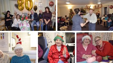 Festive celebrations at Hayes care home