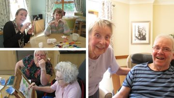 Art extravaganza at Wakefield care home