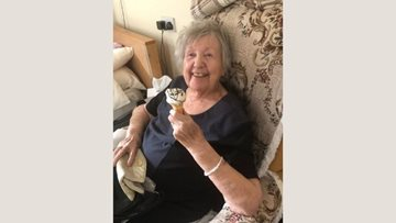 Duvet and ice-cream day at Teesside care home