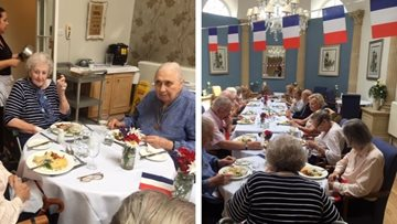 French themed afternoon at Thamesfield