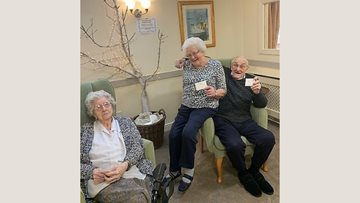 Wishes come true at Penrith care home