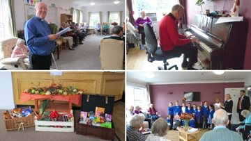 Penrith care home host harvest festival celebrations