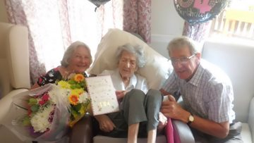 Happy 104th Birthday Vera!