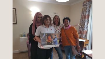 Milliner House Colleague praised for hosting first training session