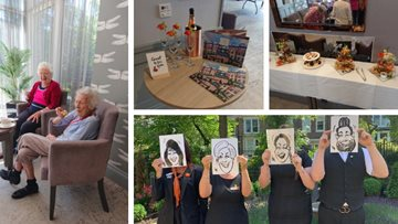 Jesmond care home celebrates the power of art
