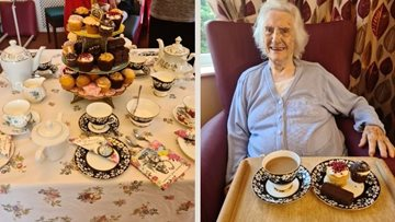 Wirral home does classic afternoon tea