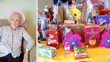 Nottingham care home Residents enjoy Easter weekend celebrations