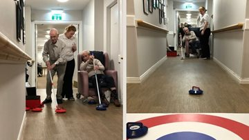 Coal care home introduces Curling Club
