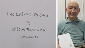 Resident publishes volume three of poetry series