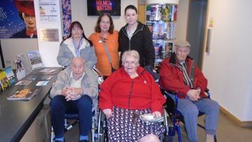 Beeches Residents enjoy trip to the flicks