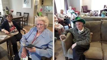 Newton Aycliffe Residents party on St Paddy's Day