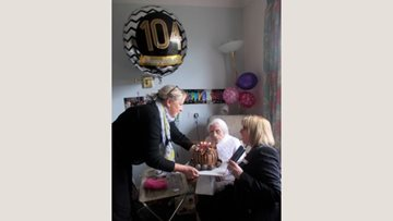 Resident At Great Easton Home Celebrates 104th Birthday