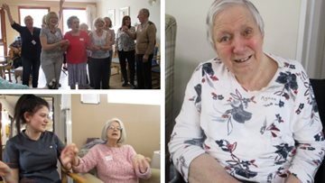 Inverness care home alive with the sound of music