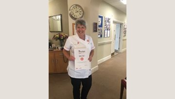 Colleague recognised for long service at The Westbury