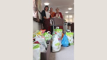 Harvest festival celebrations at Perry Barr care home