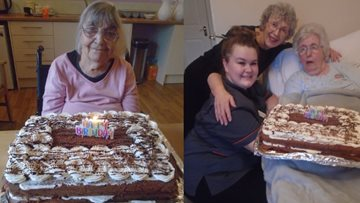 Residents at Appleton Manor celebrate joint birthday