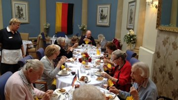 Henley-on-Thames care home hosts Oktoberfest-themed lunch