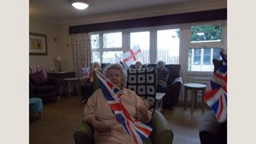 Braintree care home Residents enjoy musical fitness session