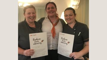 Kindness is rewarded at Doncaster care home