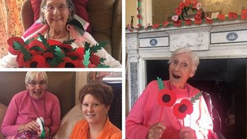Bridport care home hosts Remembrance Service