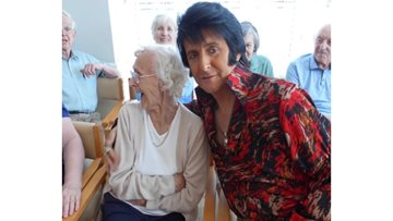 The King of Rock and Roll visits Hartlepool care home