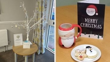 Stockton care home remember past Residents with Christmas Remembrance tree