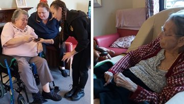 Residents take a walk on the wild side at Sheffield care home