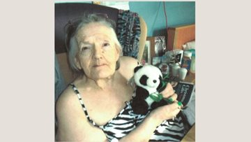 New Resident panda at Netherton care home