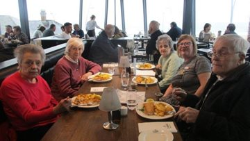 Day at the seaside for Peterlee care home Residents