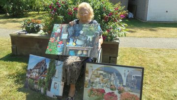90-year-old puzzle perfectionist at Whittlesey care home