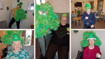 Humberston Residents partying for St Patrick's Day