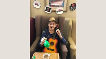 Oldbury care home pays tribute to rock and roll