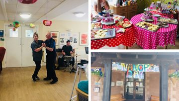 Care Home Open Day celebrations at Arbroath care home