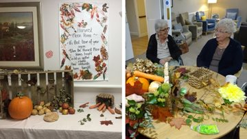 Cambridge care home hosts harvest festival