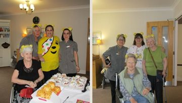 Guisborough care home supports Children in Need